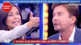 Litigata trash tra Antonella Mosetti e Riccardo Signoretti