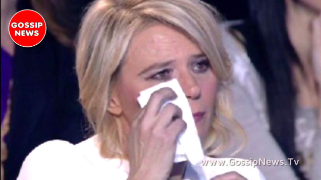 maria de filippi piange a c'è posta per te