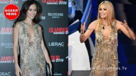 Sanremo 2018: Michelle Hunziker indossa lo stesso abito di Marica Pellegrinelli! Foto!