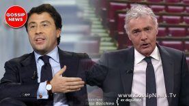 Massimo Giletti attacca Italo Bocchino per i vitalizi e gli stipendi Rai!