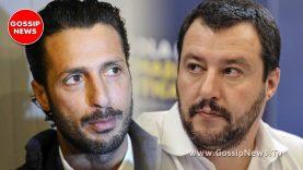 E' scontro tra Fabrizio Corona e Matteo Salvini!