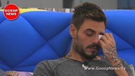 GF Vip: Francesco Monte in Lacrime! Ecco Perchè!