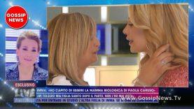 Paola Caruso Incontra la Madre Biologica. Barbara D'Urso in Lacrime.