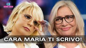 Mara Venier Scrive a Maria De Filippi e Parla di Maurizio Costanzo!
