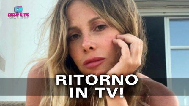 alessia marcuzzi torna in tv