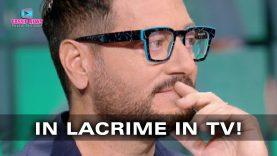 Enrico Papi in Lacrime in TV! Il Momento Doloroso!