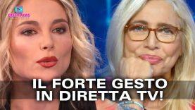 Mara Venier Umilia Francesca Fialdini: Il Forte Gesto in Diretta TV!