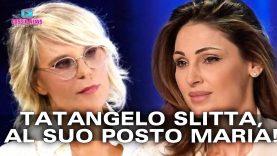 Slitta Il Debutto di Anna Tatangelo, Al Suo Posto Amici di Maria!