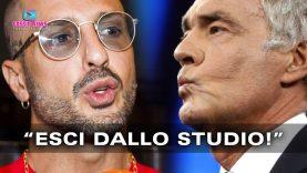 Massimo Giletti: Caos in Studio con Fabrizio Corona!