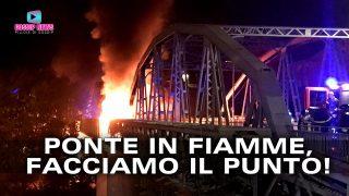 Paura a Roma: Il Ponte di Ferro in Fiamme!